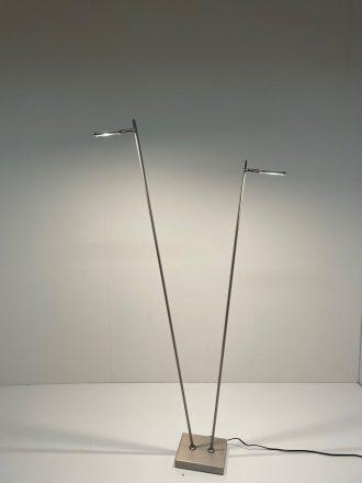 Leeslamp Block 2-lichts LED Staal