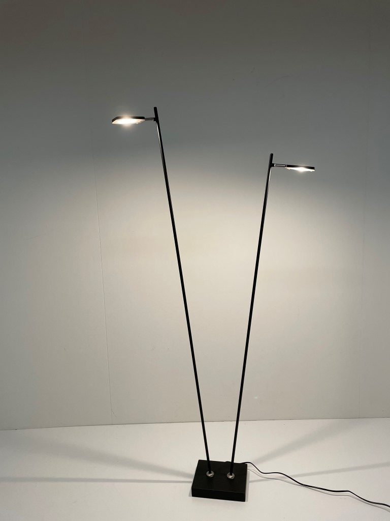 Leeslamp Block 2-lichts LED Zwart