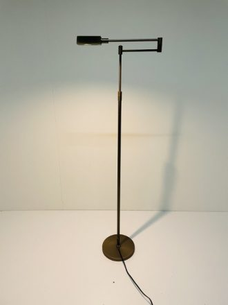 Leeslamp Mini Bari updown 5W Led brons met dimmer