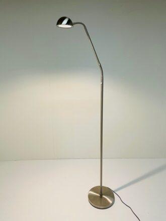 Leeslamp Parma 8w Led Staal met dimmer led
