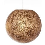 Hanglamp Ball 40 cm Wangi Gold