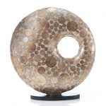 Tafellamp Donut 45cm Coin Gold