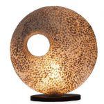 Tafellamp Donut 45cm Wangi Gold