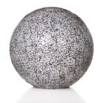Tafellamp Ball 30cm Glas White