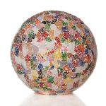 Tafellamp Ball 30cm Glass multi color