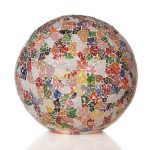 Tafellamp Ball 40cm Glass multi color