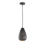 Hanglamp Onyx zwart met goud