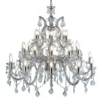 Kroonluchter Marie Therese 98cm 30-lichts Kristal