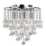 Plafondlamp Dorchester 64cm kristal