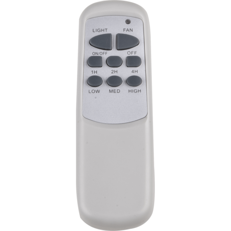 Ventilator Lermoos Witte Bladen Met Afstandsbediening Lampenhuis