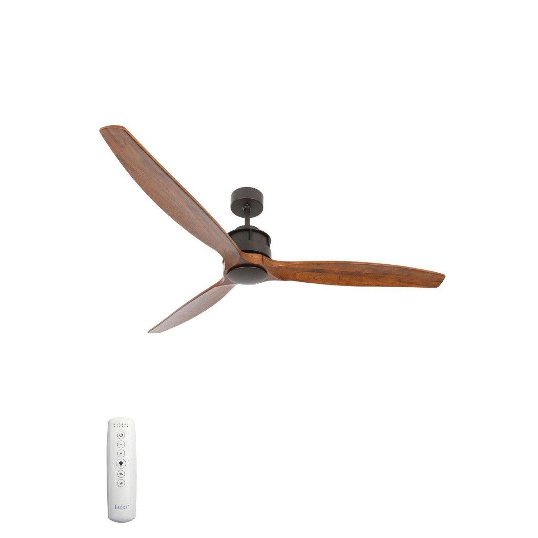 Plafondventilator Airfusion Akmani 152cm DC Fan donker brons