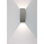 Wandlamp Vegas 15 cm aluminium