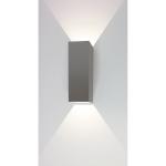 Wandlamp Vegas 25 cm aluminium