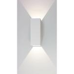 Wandlamp Vegas 25 cm wit
