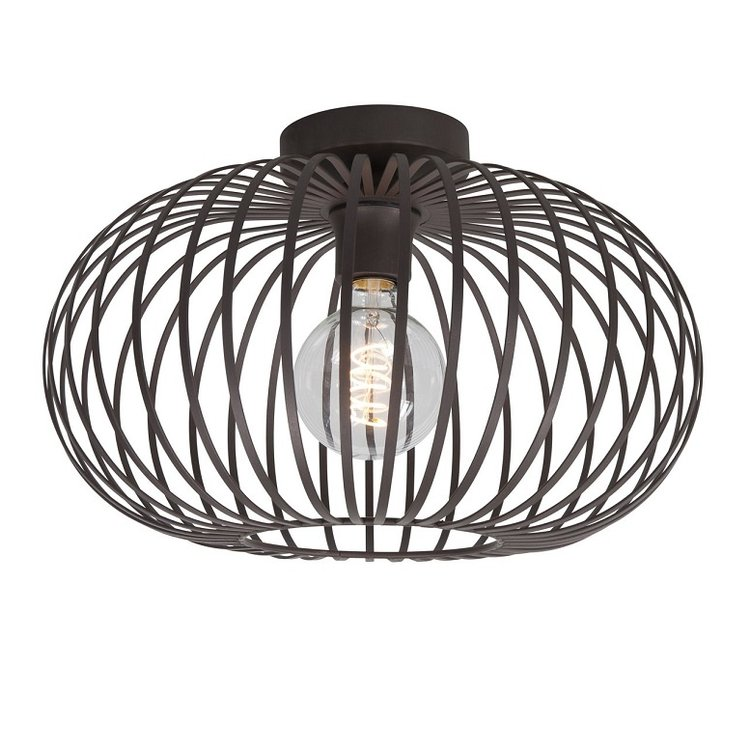 Plafondlamp Bolato bruin 40 cm