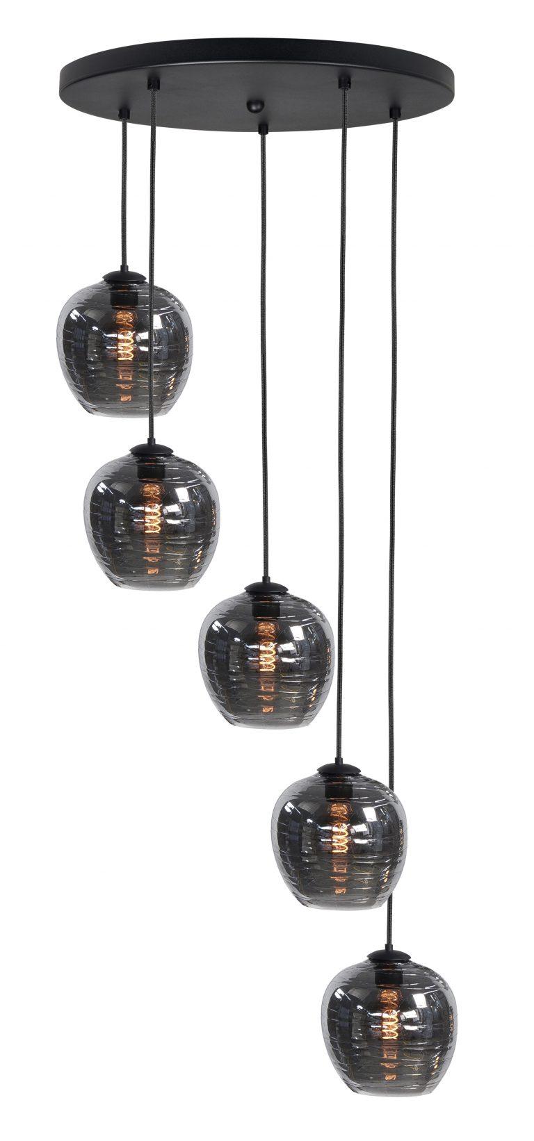 Hanglamp/videlamp Fantasy Apple 5 lichts
