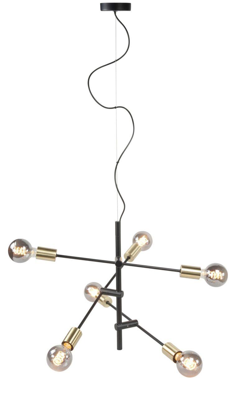 Hanglamp Sticks zwart