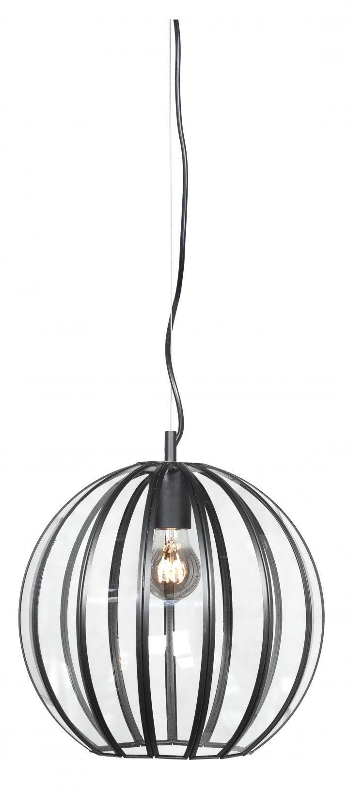 Hanglamp Giro zwart 40 cm