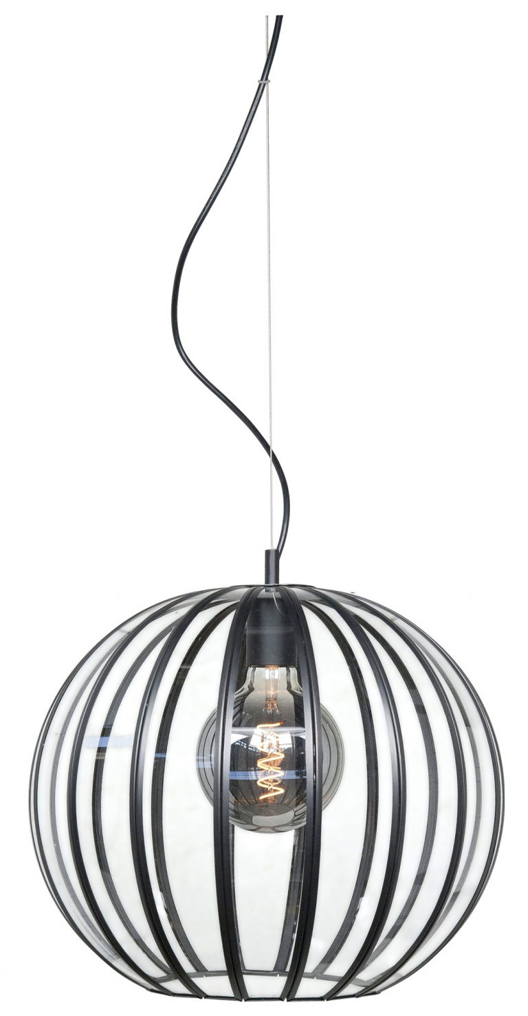 Hanglamp Giro zwart 30 cm