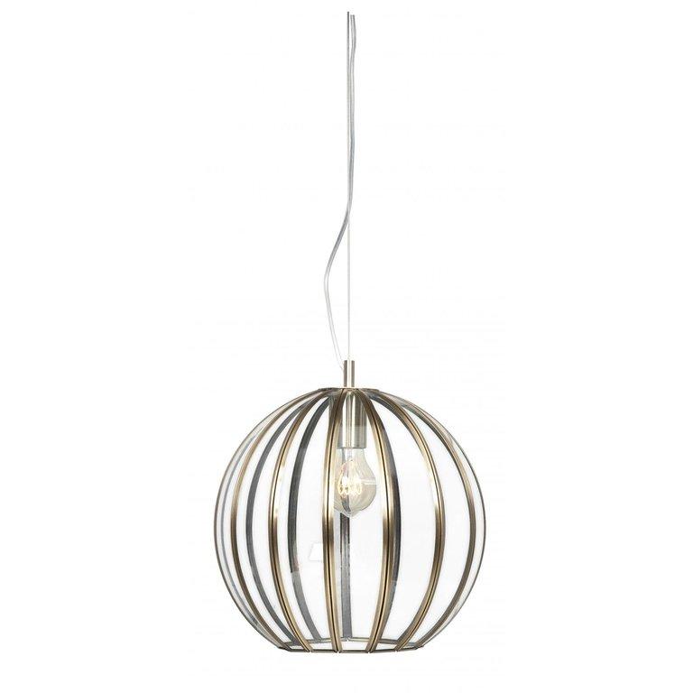 Hanglamp Giro brons 40 cm