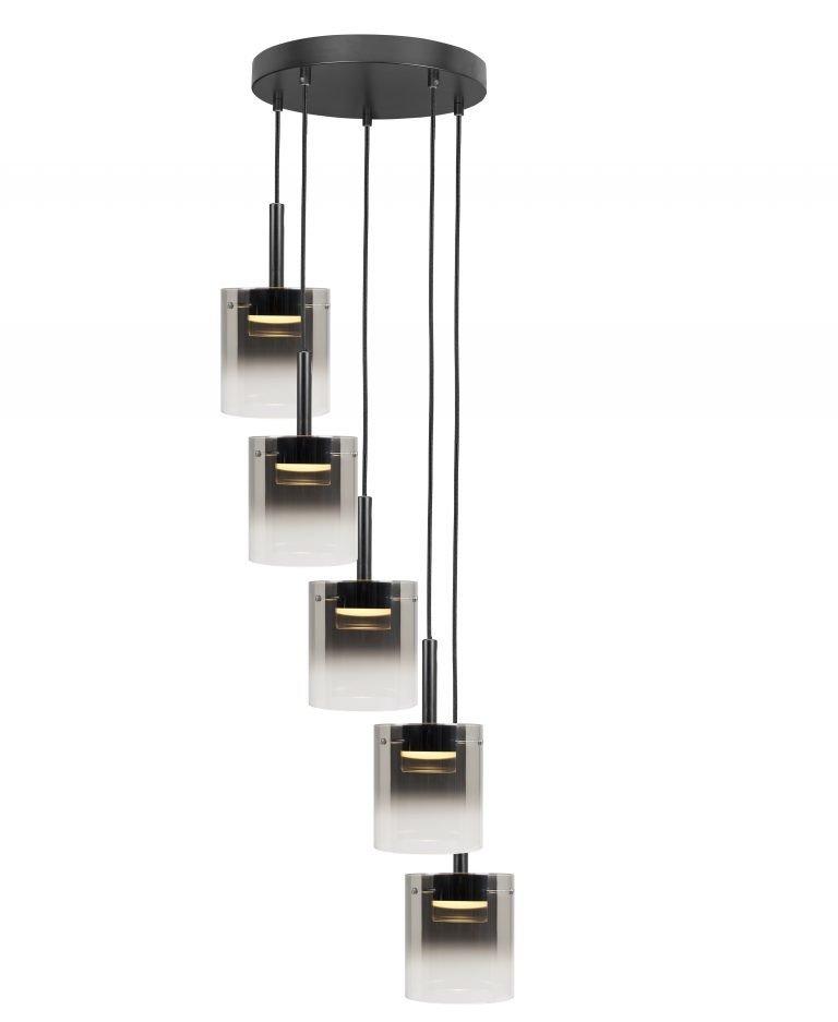 Hanglamp Salerno 5- lichts Salerno LED