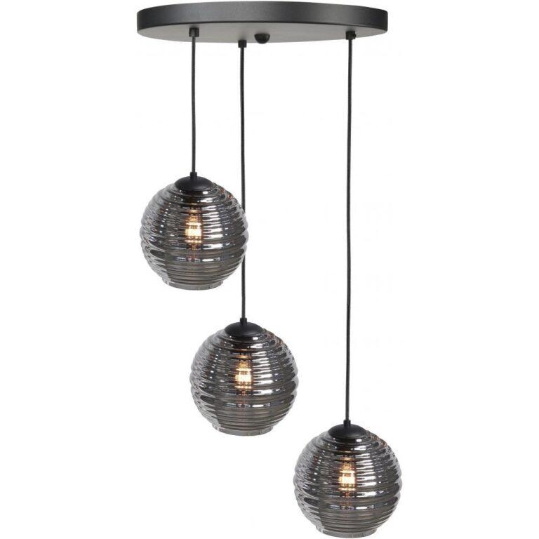 Prachtige Hanglamp Videlamp Fantasy Globe 3 lichts