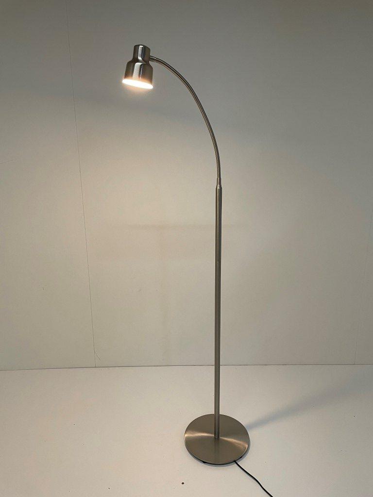 Leeslamp Flexy staal LED