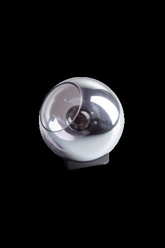 Tafellamp orb 20 cm smoke