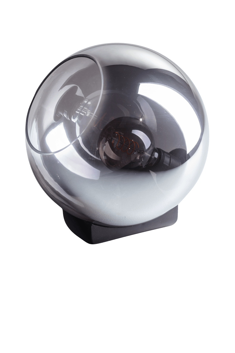 Tafellamp Orb 30 cm smoke