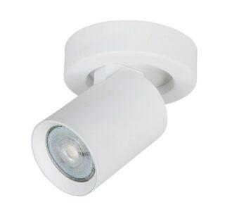 Spot oliver 1 lichts wit
