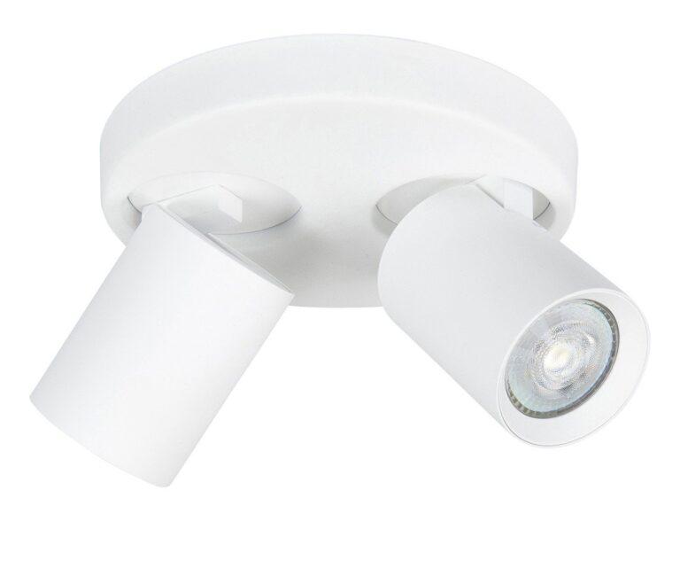 Spot oliver twee lichts wit