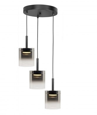 Hanglamp Salerno drie lichts LED