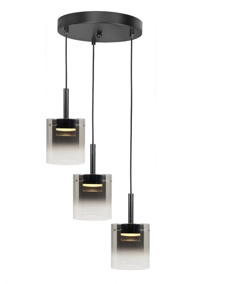 Hanglamp Salerno drie lichts LED
