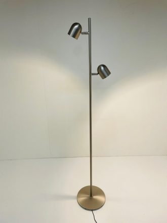 Vloerlamp Ovale staal LED