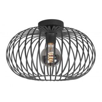 Plafondlamp Bolato 50 cm zwart