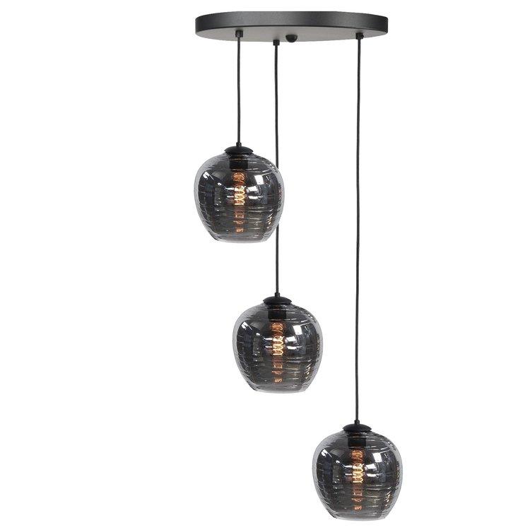 hanglamp-fantasy-apple-smoke-3-lichts