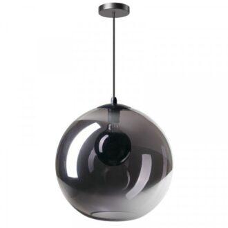 Hanglamp orb 40 cm smoke
