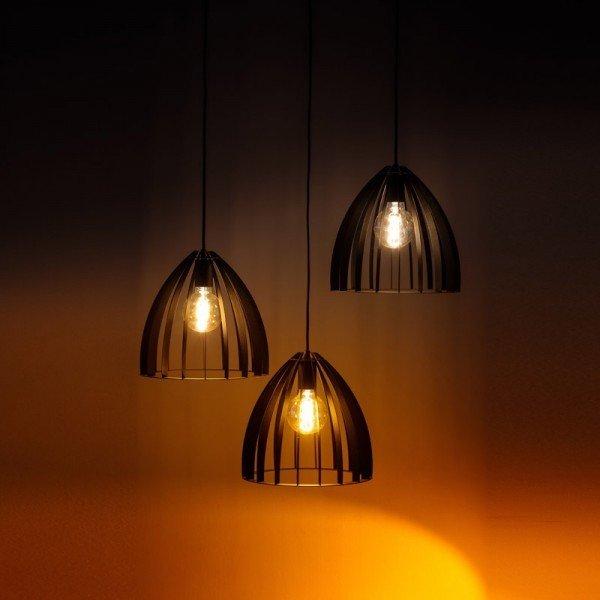 Sfeerfoto hanglamp Dean zwart