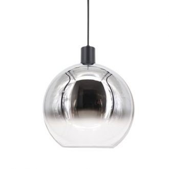 Hanglamp ball 30 cm smoke/helder