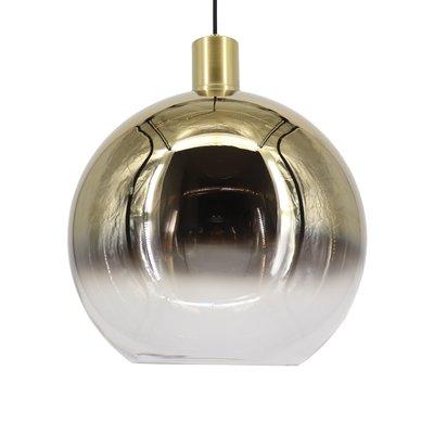 Hanglamp ball 40 cm goud/helder