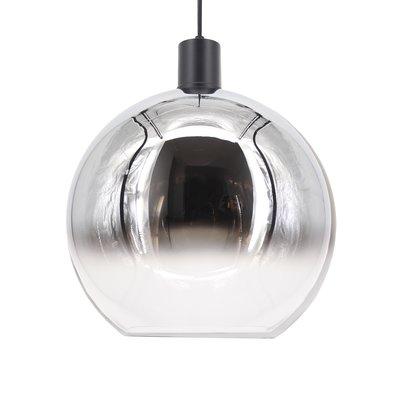 Hanglamp ball 40 cm smoke/helder