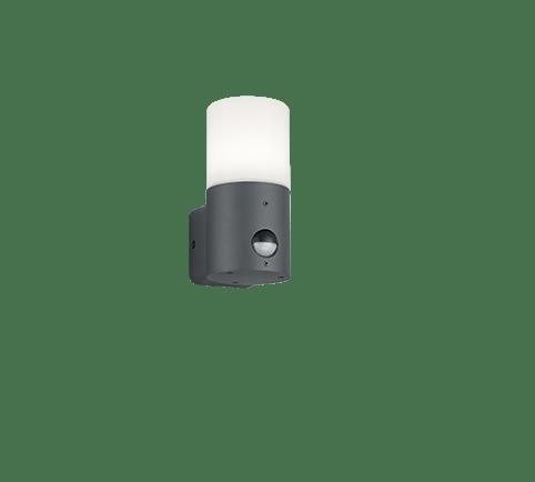 Buitenlamp Hoosic met sensor