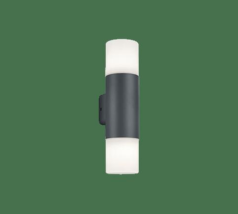 Buitenlamp Hoosic wand dubbel