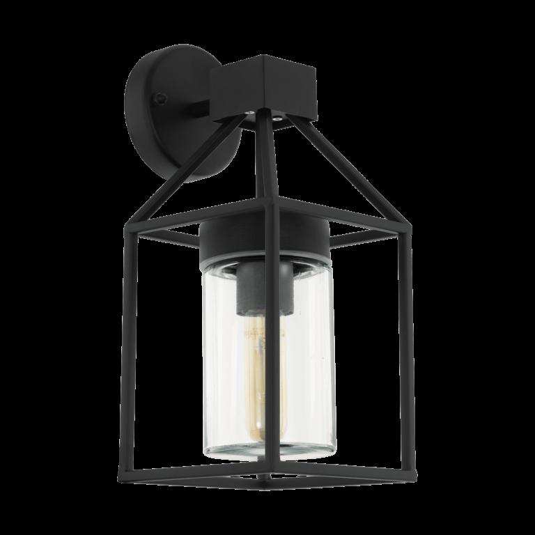Buitenlamp Trecate zwart