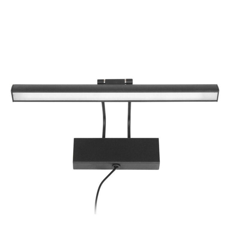 Mooie zwarte wandlamp Schilderij Litho LED 32 cm