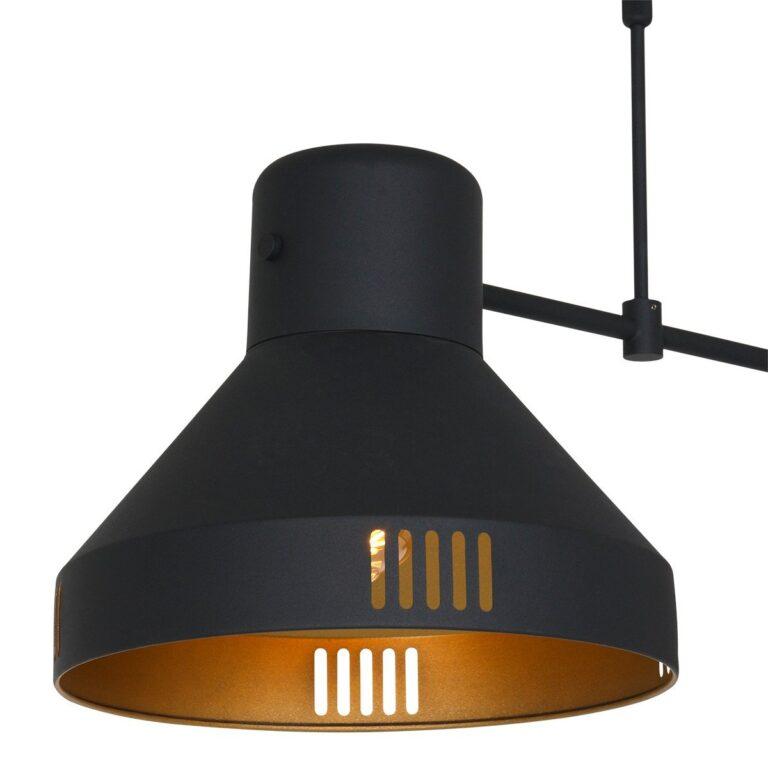 Afbeelding van de kap van hanglamp Evy zwart