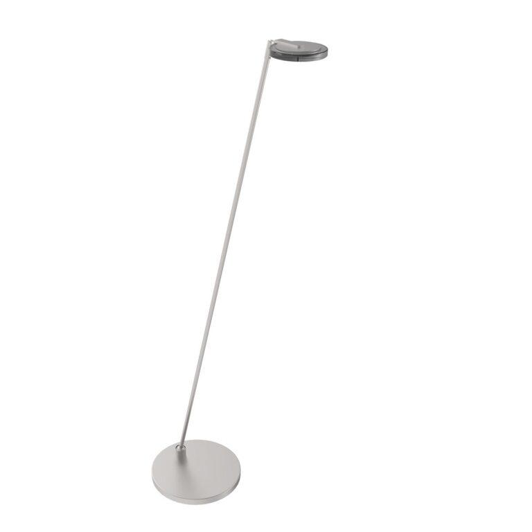 Leeslamp Turound LED staal met rookglas