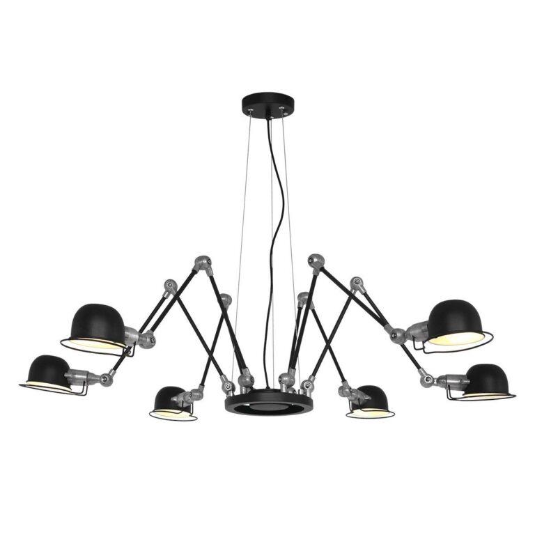 Hanglamp Davin zwart