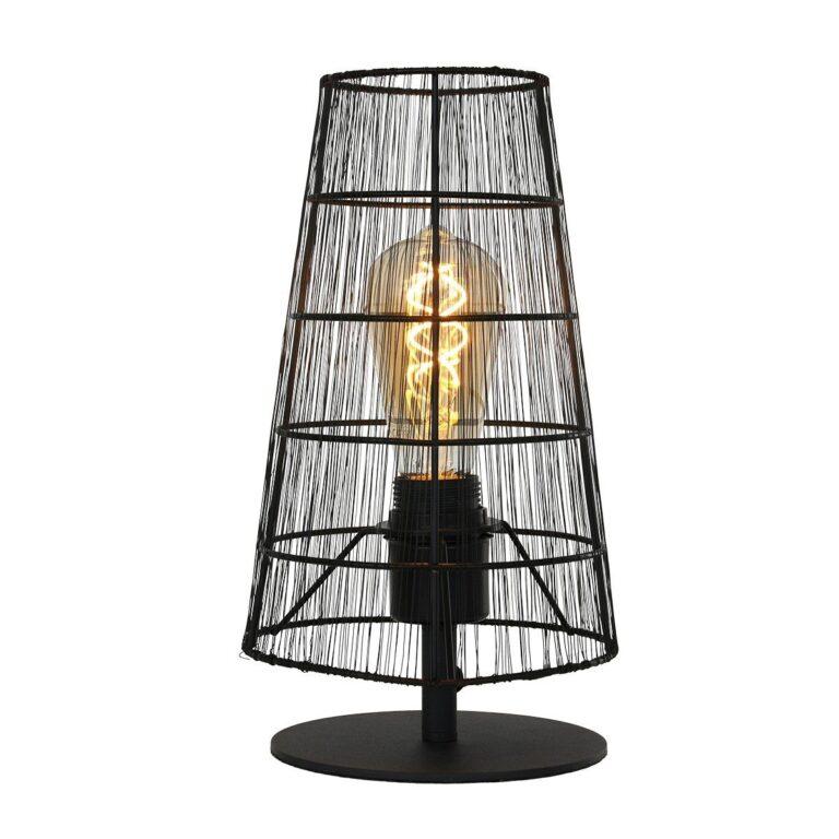De Trendy tafellamp uit de Gaze serie met een lichtgevende E27 fitting