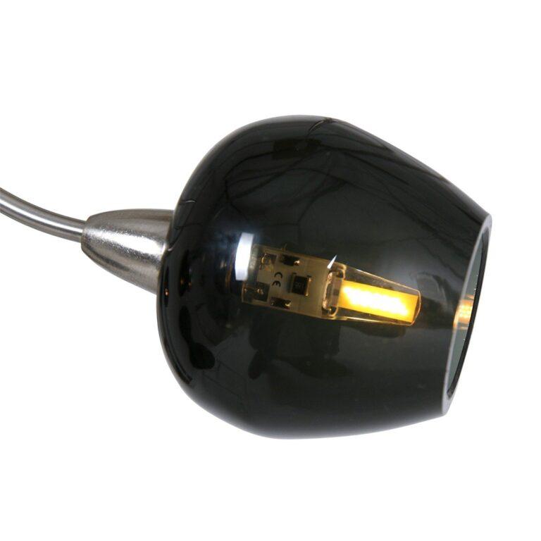 De led hanglamp Tarda LED staal